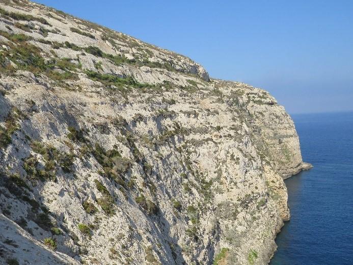Cliffs in Gozo